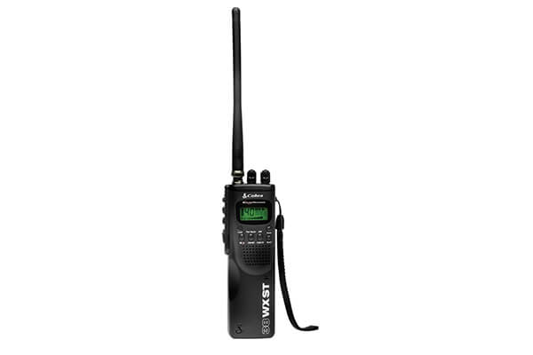 Cobra HH 38 WX ST 4-Watt 40-Channel CB Radio