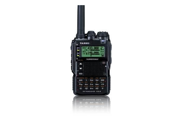 Yaesu VX-8DR Quad-Band VHF/UHF Amateur Radio Transceiver