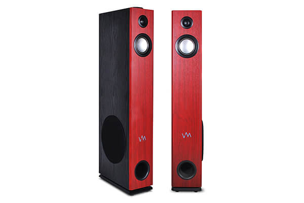VM Audio Cherry FloorstandingBluetooth Tower Speakers