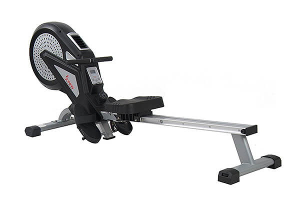 Sunny Health & Fitness SF-RW5623 Rowing Machine Rower w/ LCD Monitor