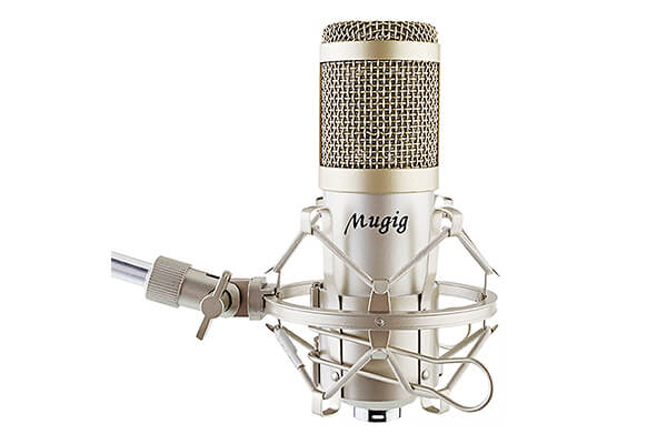 Mugig Condenser Microphone for Recording, Singing, Professional Recording