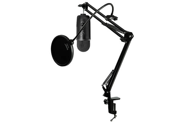Blue Microphones Blackout Yeti USB Microphone