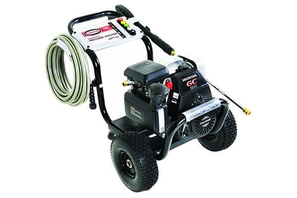 SIMPSON Cleaning MSH3125-S 3100 PSI at 2.5 GPM Gas Pressure Washer