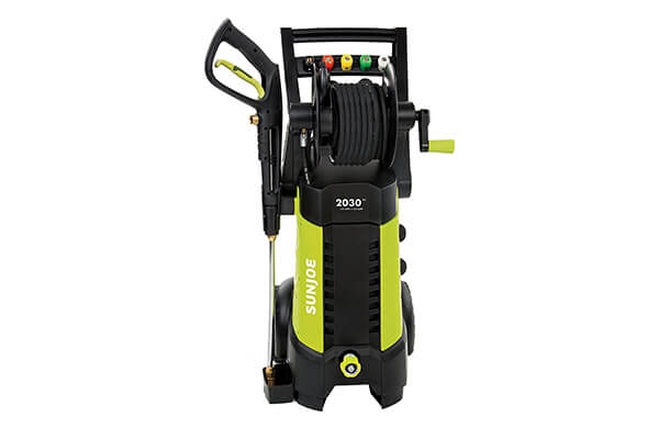 Sun Joe SPX3001 2030 PSI 1.76 AMP Electric Pressure Washer with Hose Reel
