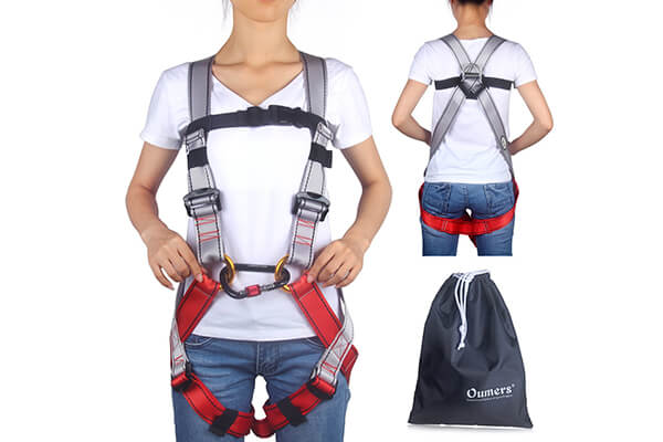 Kids' Climbing Harness Oumers Safe Belts Guide Harness