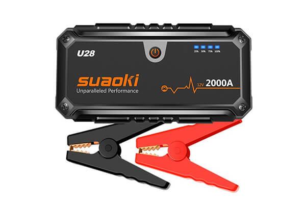 Suaoki U28 2000A Peak Jump Starter Pack