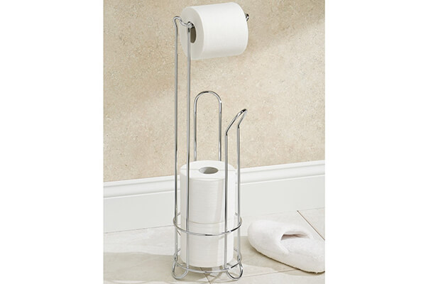InterDesign Classico - Free Standing Toilet Paper Holder