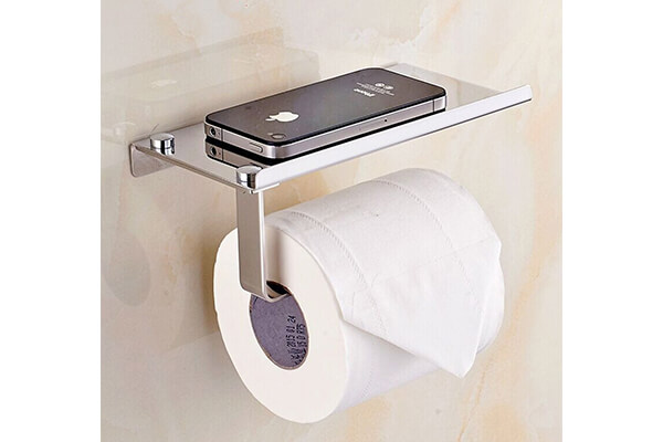 Bosszi Wall Mount Toilet Paper Holder