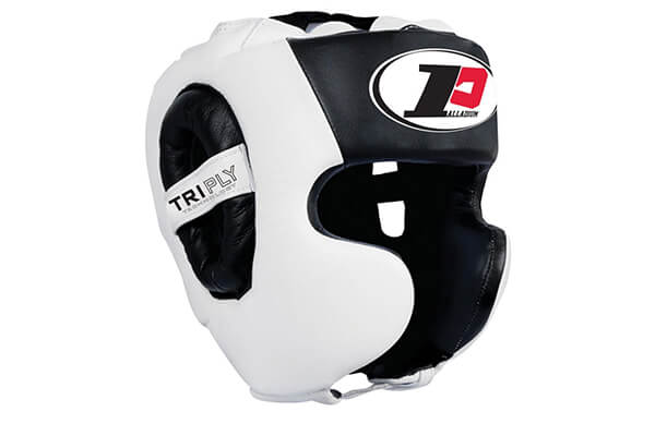 Contender Fight Sports Palladium Tri-Ply Sparring Headgear