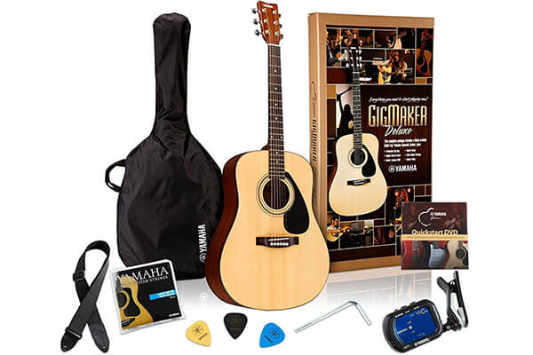 Yamaha Gigmaker Deluxe Acoustic Guitar