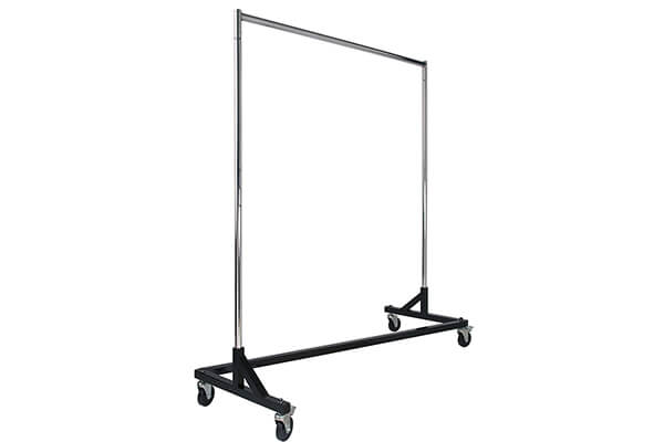 Commercial Garment Rack Z Rack - Rolling Clothes Rack
