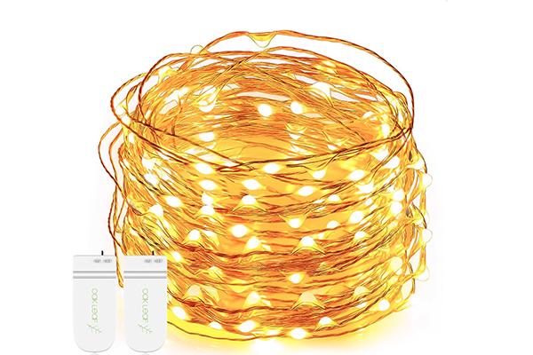 String Lights, Oak Leaf