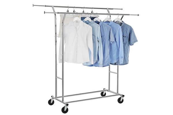 SONGMICS Double Rail Clothing Rack
