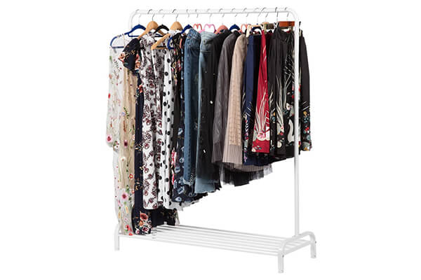 LANGRIA Heavy Duty Clothing Garment Rack