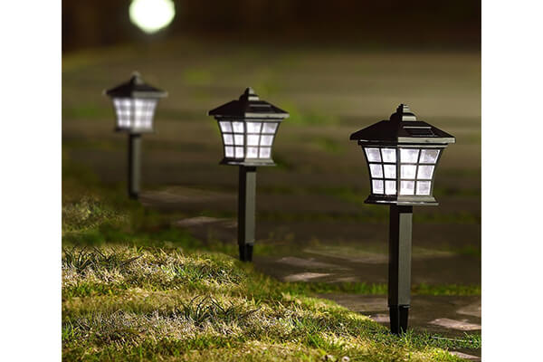 Twinkle Star 6 Pack Solar Pathway Lights