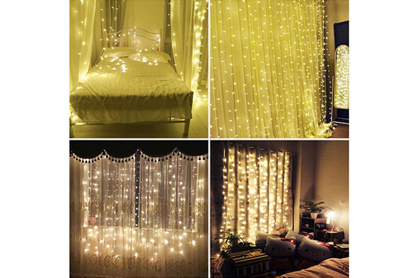 BSLED Curtain Icicle Lights
