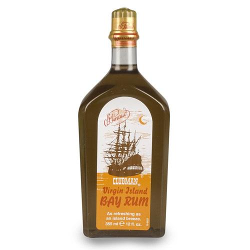 3. Clubman Pinaud Virgin Island Bay Rum, 12 Ounce