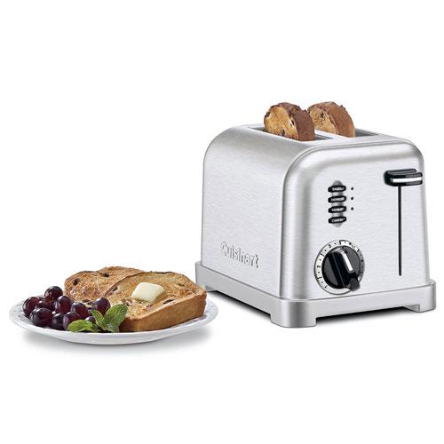2. Cuisinart CPT-160 Metal Classic 2-Slice Toaster