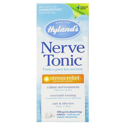 6.Hyland's NETO-T500 Nerve Tonic Stress Relief Tablets