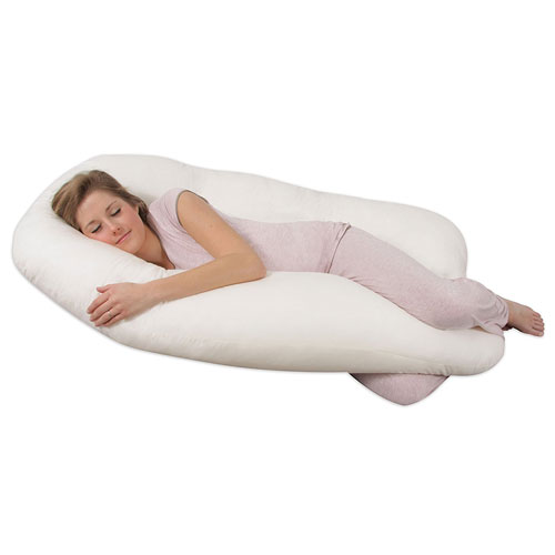 8. Leachco Back 'N Belly Body Pillow