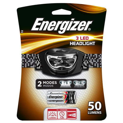 1. Energizer 3 LED