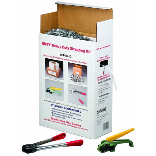 7. Polypropylene Jumbo Strapping Kit