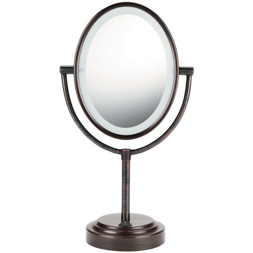 3. Conair Double-Sided Lighted Makeup Mirror