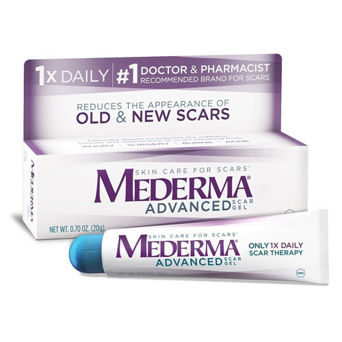 10. Mederma Advanced Scar Gel (20 g)
