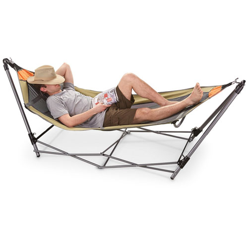 07. Guide gear portable folding hammock