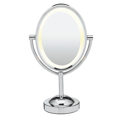 10. Conair Double-Sided Lighted Makeup Mirror