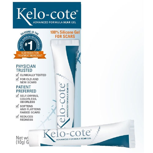 6. Kelo-Cote Advanced Formula Scar Gel, 10 Grams