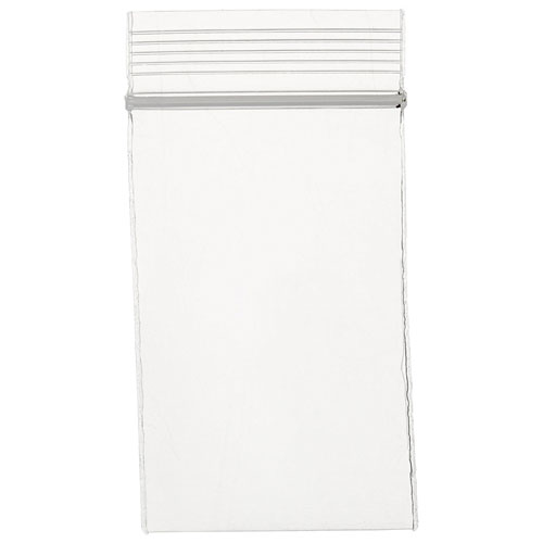 2. Mil Clear Zip Lock Bags, Case of 1000