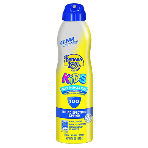 2. Banana Boat UltraMist Kids Lotion