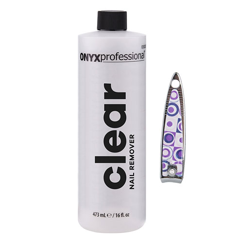 10. Onyx Professional 100% pure acetone nail polish remover