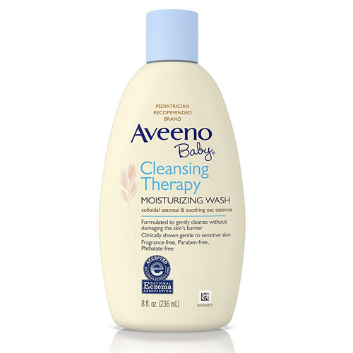 5. Aveeno Baby Moisturizing and Cleansing Wash