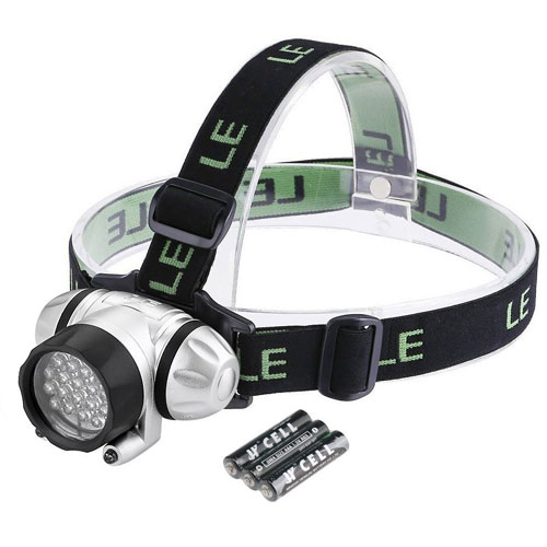 10. LE Headlamp LED, 4 Modes Headlight