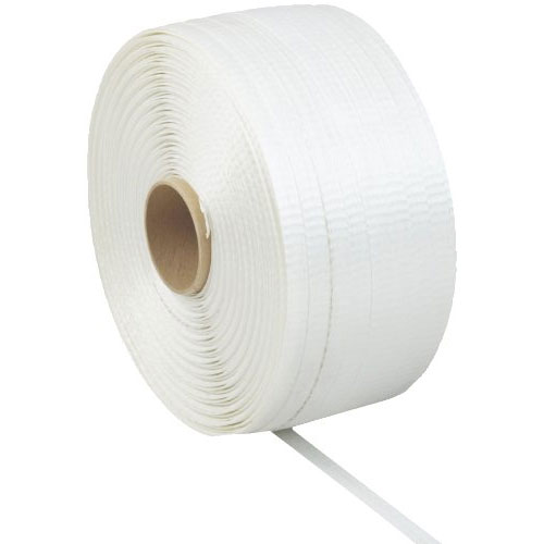 8. PAC Strapping White Polyester Cord Strapping