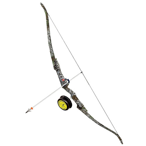 PSE Kingfisher Right Hand Bowfishing Kit, 45-Pound, Camo