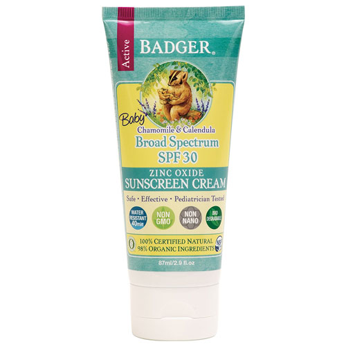 8. Badger Baby Sunscreen Cream