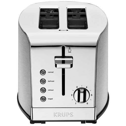 7. KRUPS KH732D Breakfast Set 2-Slot Toaster