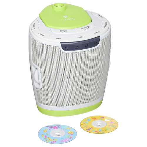 7. myBaby Soundspa Lullaby Sound Machine and Projector