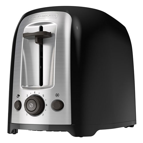 10. BLACK+DECKER TR1278B 2-Slice Toaster