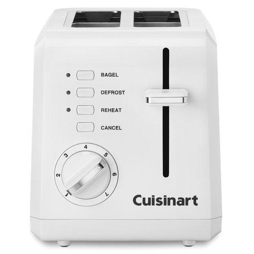 6. Conair Cuisinart CPT-122 2-Slice Compact Plastic Toaster
