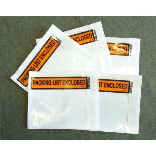6. Printing pouch envelope bag for invoice packing slip