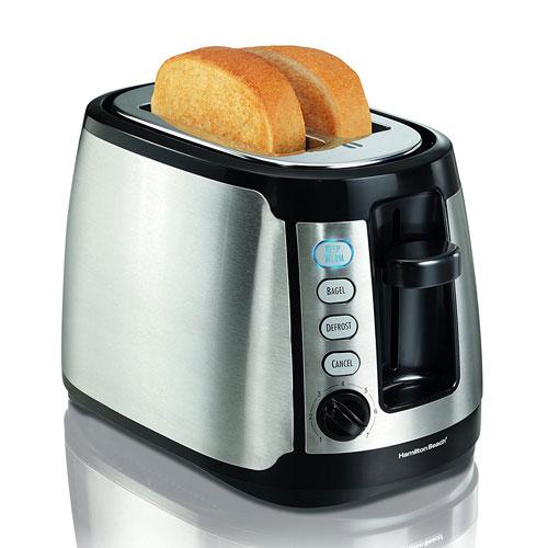 9. Hamilton Beach 22811 Keep Warm 2-Slice Toaster