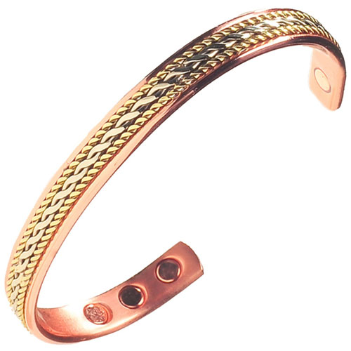 5. Stylish Elegant Pure Copper Magnetic Therapy Bracelet