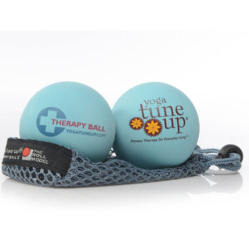 8. Yoga Tune Up Massage Therapy Balls Pair in Mesh Tote