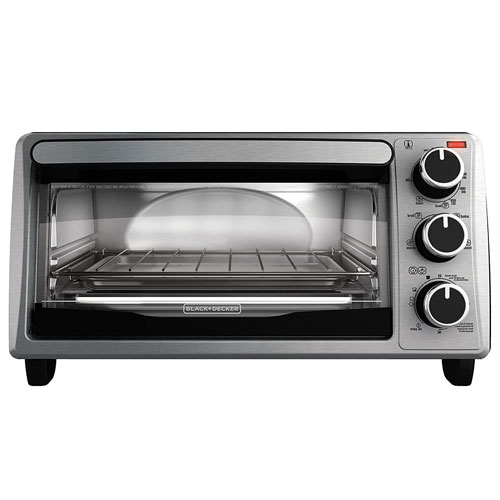 10. Black & Decker four-slice toaster oven