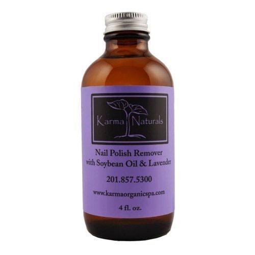 3. Organic Lavender Nail Polish remover.