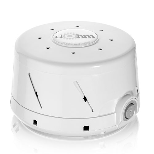 1. Marpac Dohm-DS All-Natural White Noise Sound Machine (White)